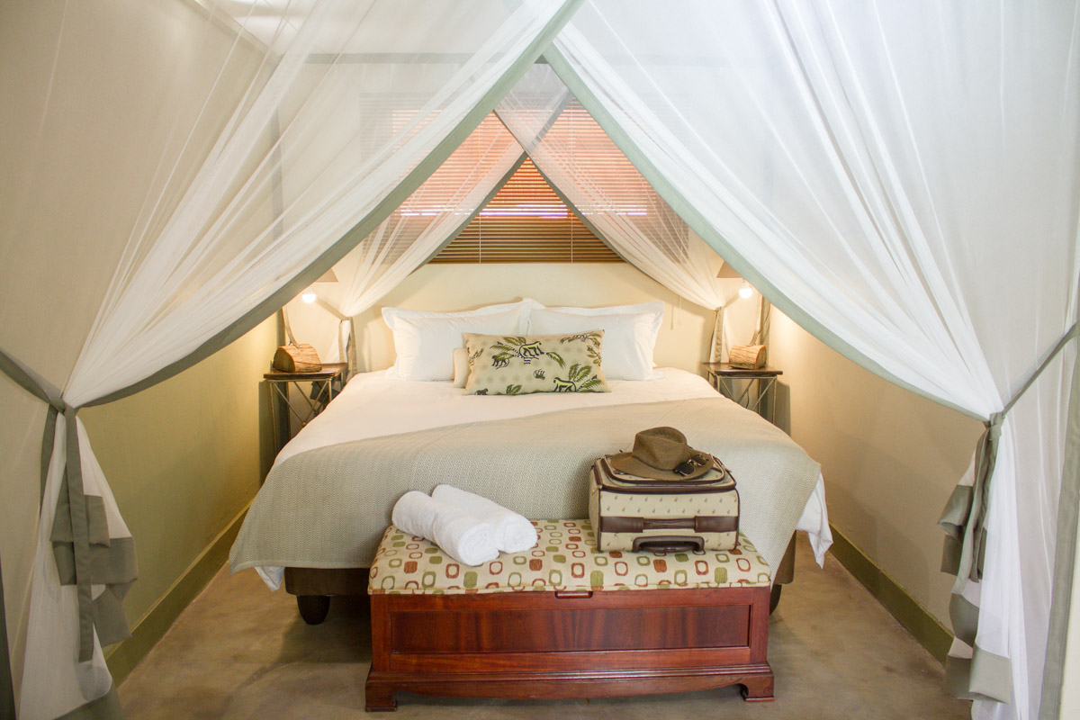 Sarah Kerr Nguni Lodge Victoria FallsStandard Double