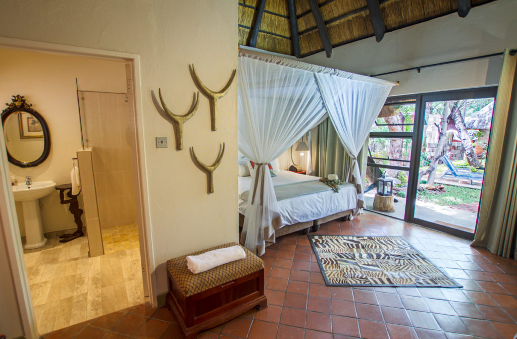 Deluxe Pool View Room at Nguni Lodge in Victoria Falls