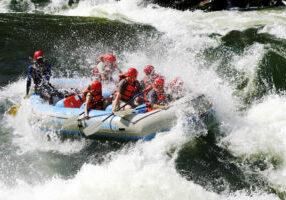 Rafting Victoria Falls