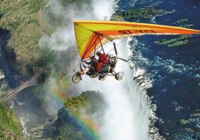 microlight-victoria-falls Nguni Lodge Victoria Falls